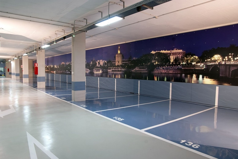 Pintura de garajes en Bilbao