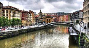 Pintores en el Casco Viejo de Bilbao
