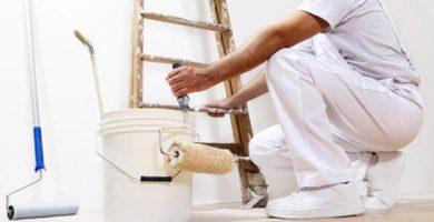 ¿Cómo actúa un pintor profesional?
