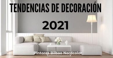 Tendencias de decoración 2021