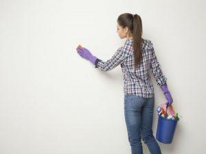 ¿Cómo preparar las paredes antes de pintar? ¿Cómo limpiar paredes y techos?