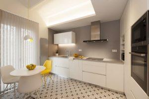 decoracion-cocina-comedor-lujo-apartamento-bilbao-pintores