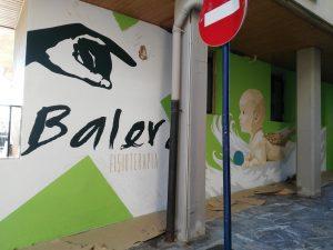 mural fisioterapia en Bilbao