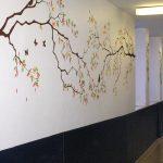 mural de interior decorativo pintores Bilbao