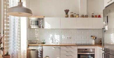 ¿De qué color pintar la cocina?