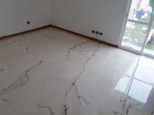 Porcelanato líquido en Bilbao, suelo habitación